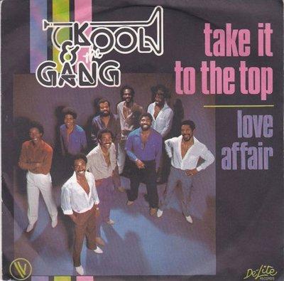 Kool & the Gang - Take it to the top + Love affair (Vinylsingle)