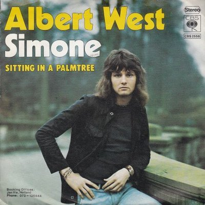 Albert West   - Simone + Sitting in a palmtree (Vinylsingle)