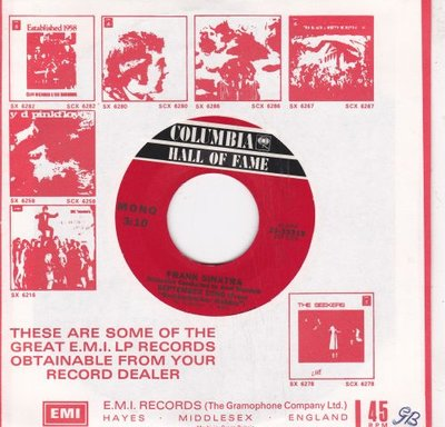 Frank Sinatra - September Song + Among My Souvenirs (Vinylsingle)