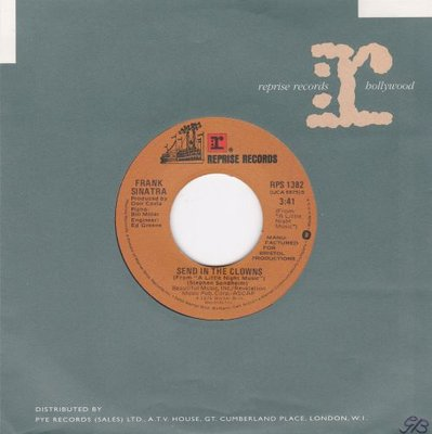 Frank Sinatra - I love my life + Send in the clowns (Vinylsingle)