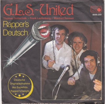 G.L.S. United - Rapper's Deutsch + (Instrumental) (Vinylsingle)