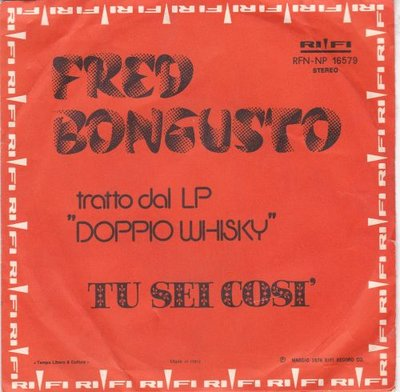 Fred Bongusto - Tu Sei Cosi + Never Never (Vinylsingle)