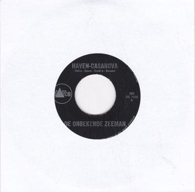 De Onbekende Zeeman - Haven-Casanova + Havencafe (Vinylsingle)