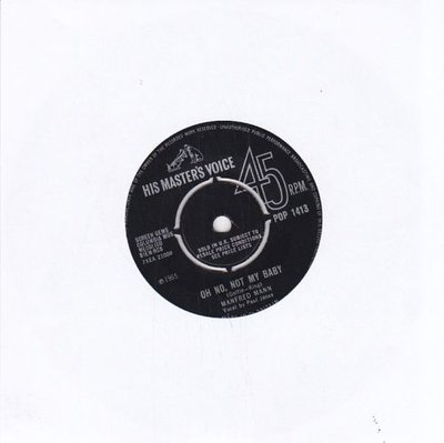 Manfred Mann - Oh no, not my baby + What am I doing wrong (Vinylsingle)