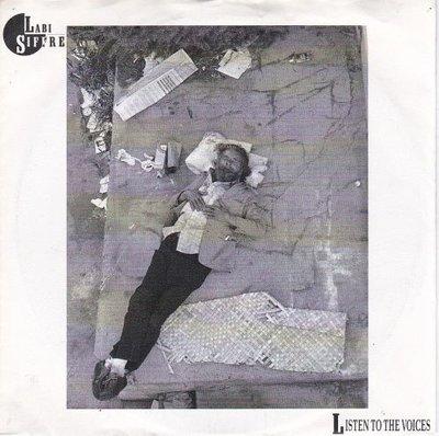 Labi Siffre - Listen to the voices + Never let you down (Vinylsingle)