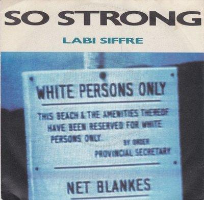 Labi Siffre - So strong + Hard road (Vinylsingle)