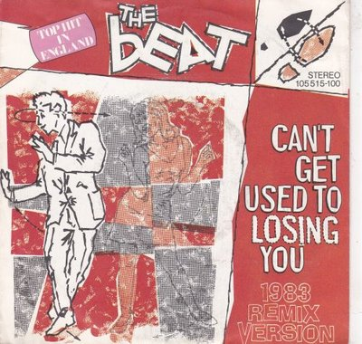 Beat - Can't get used to losing you + Spar wid me (Vinylsingle)