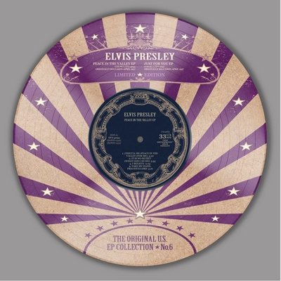 ELVIS PRESLEY - ORIGINAL E.P. COLLECTION VOL. 6 (PICTURE DISC) (Vinyl LP)