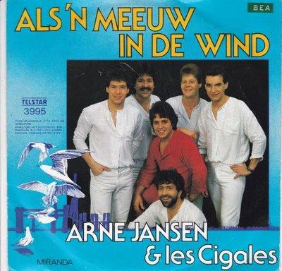 Arne Jansen - Als 'n meeuw in de wind + Miranda (Vinylsingle)