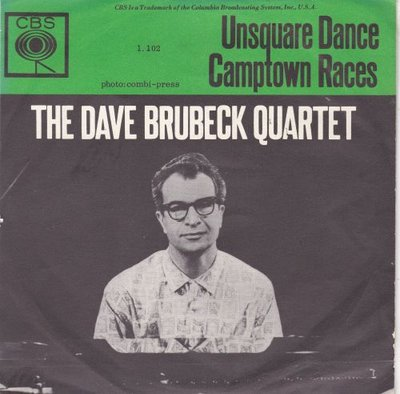 Dave Brubeck - Unsquare dance + Camtown races (Vinylsingle)