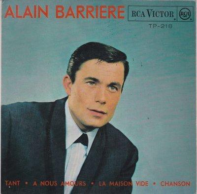 Alain Barriere - Tant (EP) (Vinylsingle)
