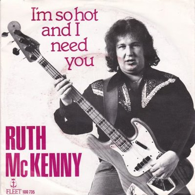 Ruth McKenny - I'm so hot and I need you + You made a fool (Vinylsingle)