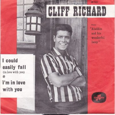 Cliff Richard - I could easily fall (in love with you) + I'm in love with you (Vinylsingle)