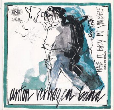 Anton Verhagen Band - Make It Easy On Yourself + Tumblin Down (Vinylsingle)