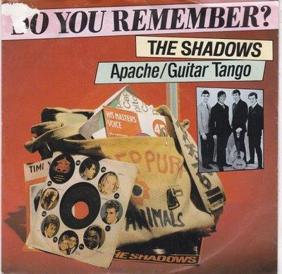 Shadows - Apache + Guitar tango (Vinylsingle)