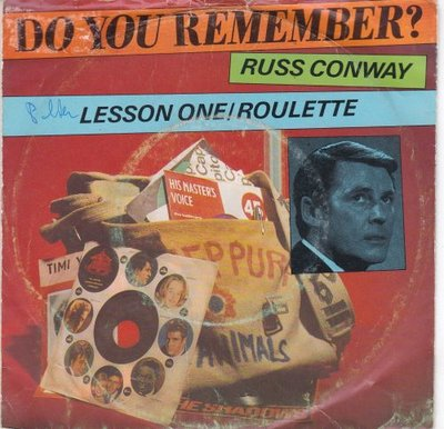 Russ Conway - Lesson one + Roulette (Vinylsingle)