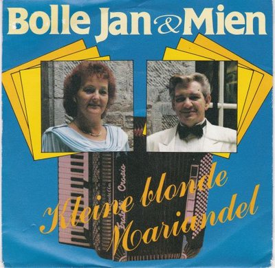 Bolle Jan & Mien - Kleine blonde Mariandel + Kristalwals (Vinylsingle)