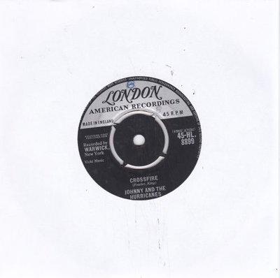 Johnny & the Hurricanes - Crossfire + Lazy (Vinylsingle)