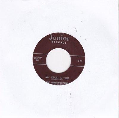 Metropolitans - My Heart Is True + So Much In Love (Vinylsingle)
