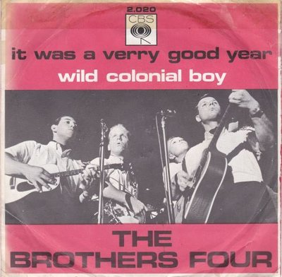 Brothers Four - It was a very good year + Wild colonial boy (Vinylsingle)