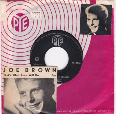 Joe Brown - It Only Took A Minute + That's What Love Will Do (Vinylsingle)