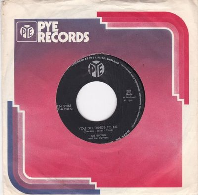 Joe Brown - You Do Things To Me + Everybody Calls Me Joe (Vinylsingle)