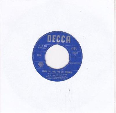 Vera Lynn - From the time you say goodbye + Auf wiederseh'n (Vinylsingle)