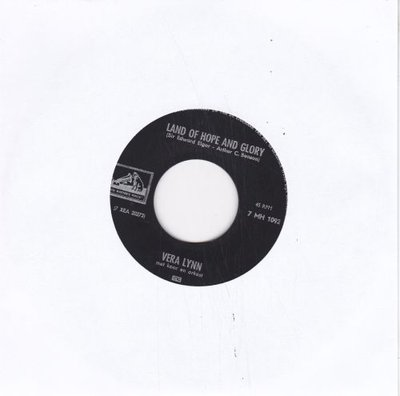 Vera Lynn - Land of hope and glory + From the time you say goodbye (Vinylsingle)