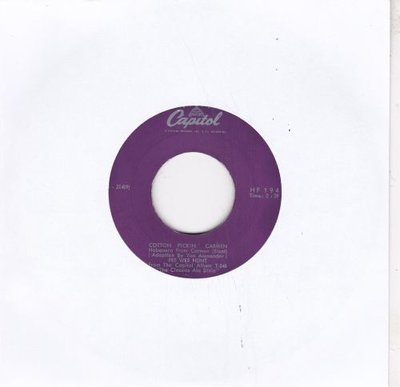 Pee Wee Hunt - Cotton pickin' Carmen + Ohi Martha. Oh (Vinylsingle)