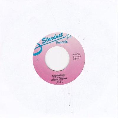 Johnny Preston - Running bear + Craddle of love (Vinylsingle)