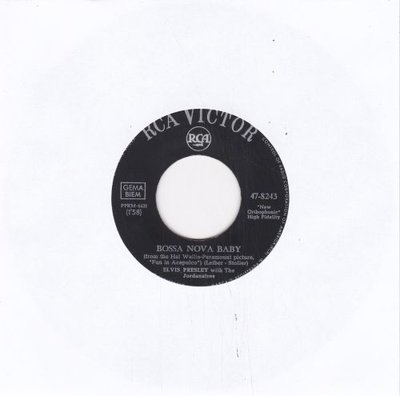 Elvis Presley - Bossa Nova Baby + Witchcraft (Vinylsingle)