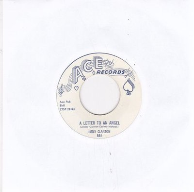 Jimmy Clanton - A Letter To An Angel + A Part Of Me (Vinylsingle)