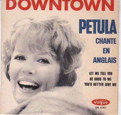 Petula Clark - Petula chante en anglais (EP) (Vinylsingle)