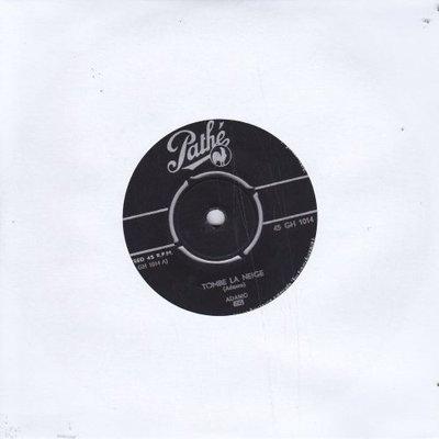 Adamo - Tombe la neige + Car je veux (Vinylsingle)
