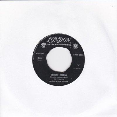 Ray Peterson - Corinne Corrina + Be my girl (Vinylsingle)