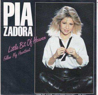 Pia Zadora - Little Bit Of Heaven + Follow My Heartbeat (Special Dance Mix) (Vinylsingle)