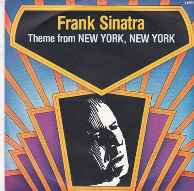 Frank Sinatra - Theme from New York + That's what God looks like to me (Vinylsingle)