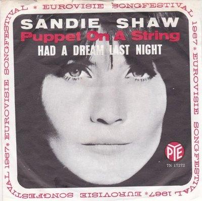 Sandie Shaw - Puppet on a string + Had a dream last night (Vinylsingle)