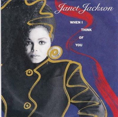 Janet Jackson - When I think of you + Pretty boy (Vinylsingle)
