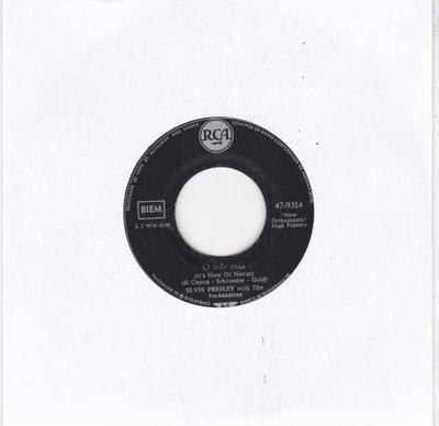 Elvis Presley - It's now or never + Make me know it (Vinylsingle)