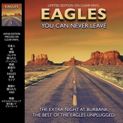 THE EAGLES - YOU CAN NEVER LEAVE -COLOURED VINYL- (Vinyl LP)