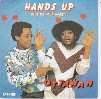 Ottawan - Hands up + (instr.) (Vinylsingle)