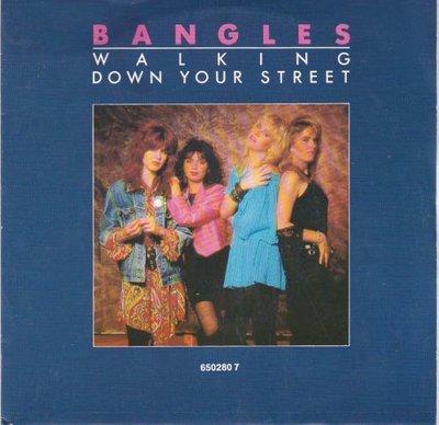 Bangles - Walking down your street + Return post (Vinylsingle)