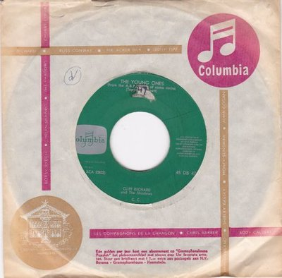 Cliff Richard - The Young Ones + We say yeah (Vinylsingle)