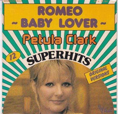 Petula Clark - Romeo + Baby lover (Vinylsingle)
