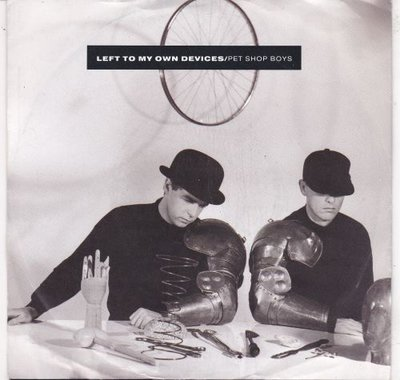 Pet Shop Boys - Left to my own devices + The sound of the. (Vinylsingle)