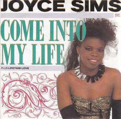 Joyce Sims - Come into my life + Lifetime lover (Vinylsingle)