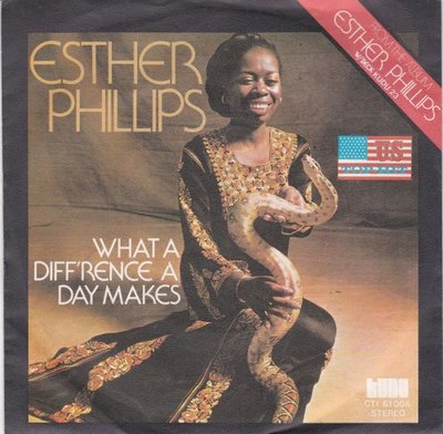 Esther Phillips - What a difference a day makes + Turn around (Vinylsingle)