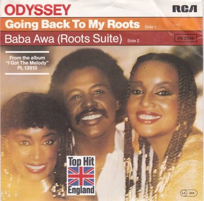 Odyssey - Going back to my roots + Bawa Awa (Vinylsingle)