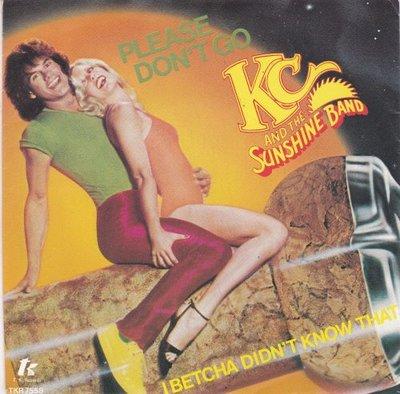 KC & the Sunshine Band - Please don't go + I betcha did'nt (Vinylsingle)